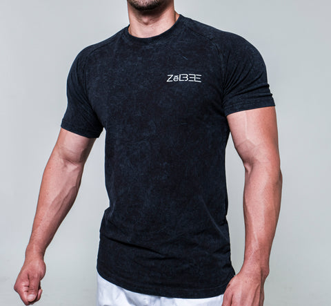 Performance Shirt (Black Acid Wash)