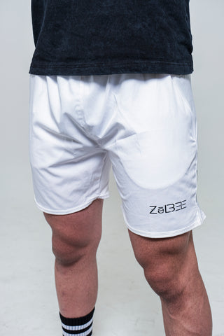 Running Shorts (White)