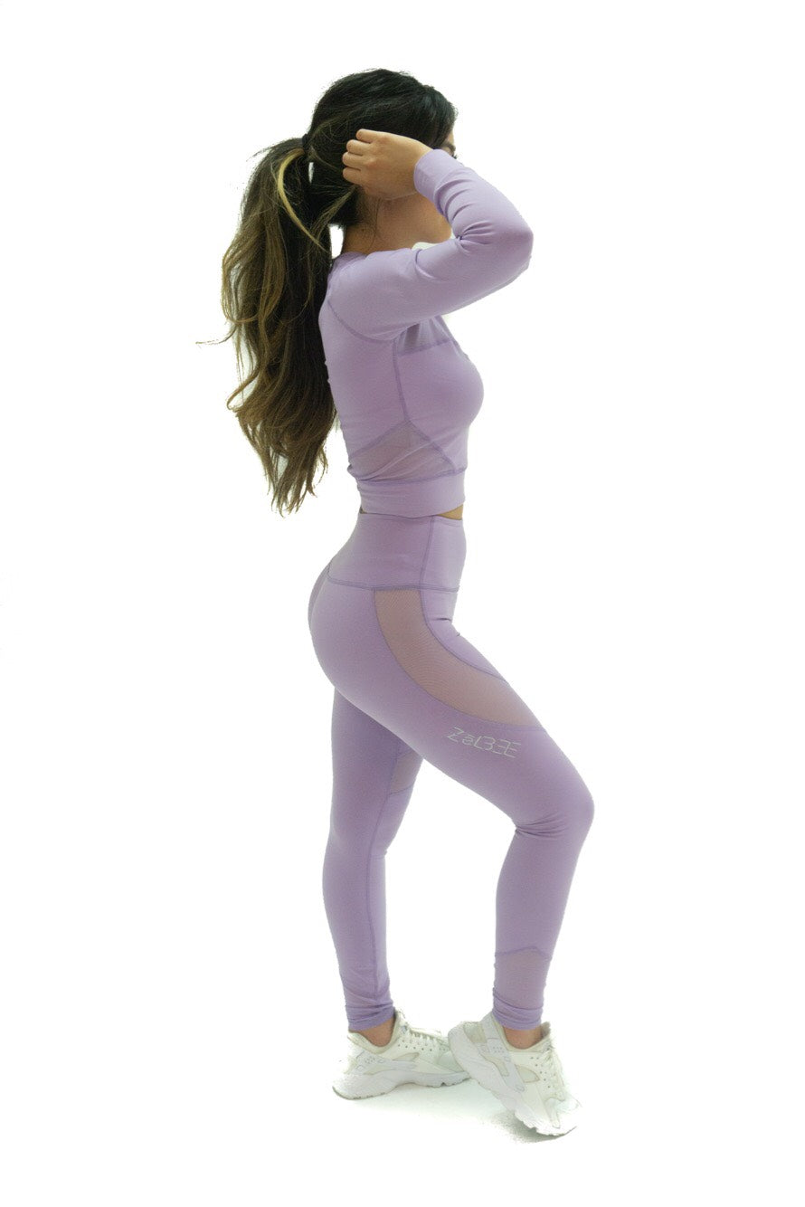 Yoga Leggings (Lavender)