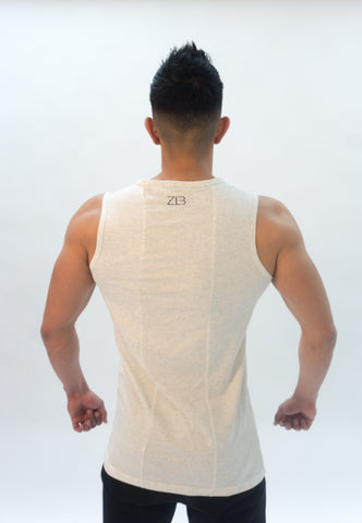 SS18 Cut Off (heather white)