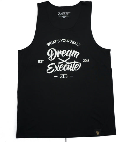 Dream x Execute Mesh Tank (black)