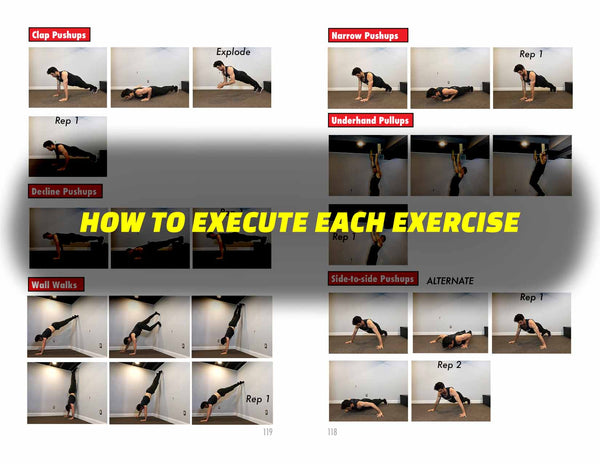 HOW TO PERFORM EACH EXERCISE