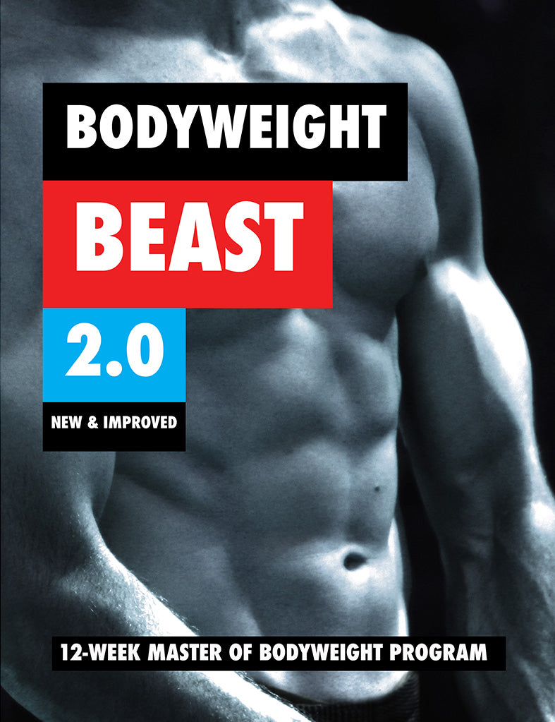 BODYWEIGHT BEAST 2.0 COVER
