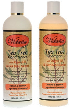 Tea Tree Hair Care Duo - Vidana Beauty Products