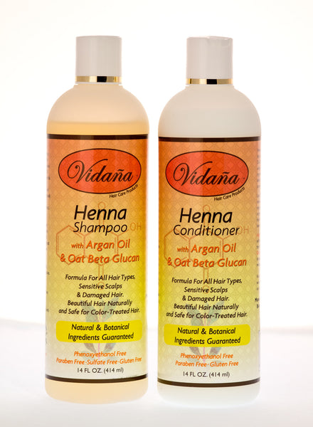 Henna Hair Care Duo - Vidana Beauty Products