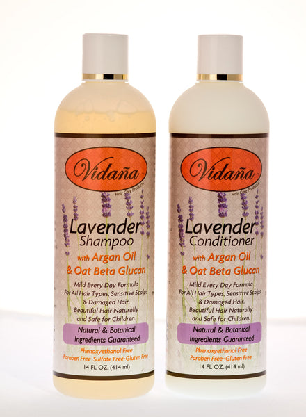 Lavender Hair Care Duo - Vidana Beauty Products