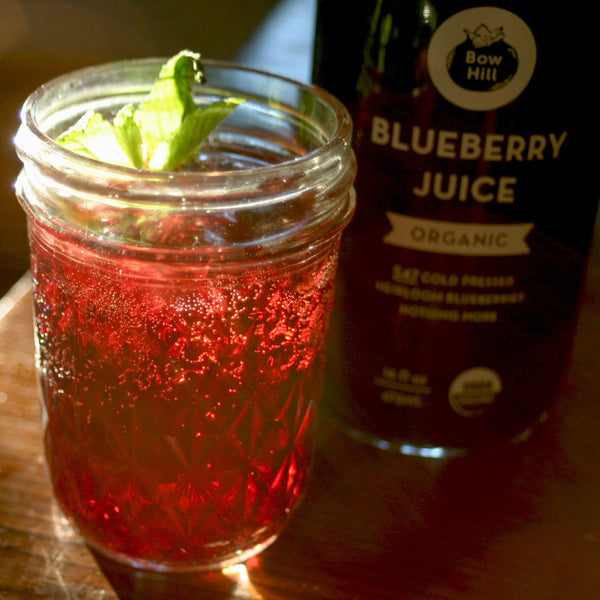 Blueberry Shrub Drink