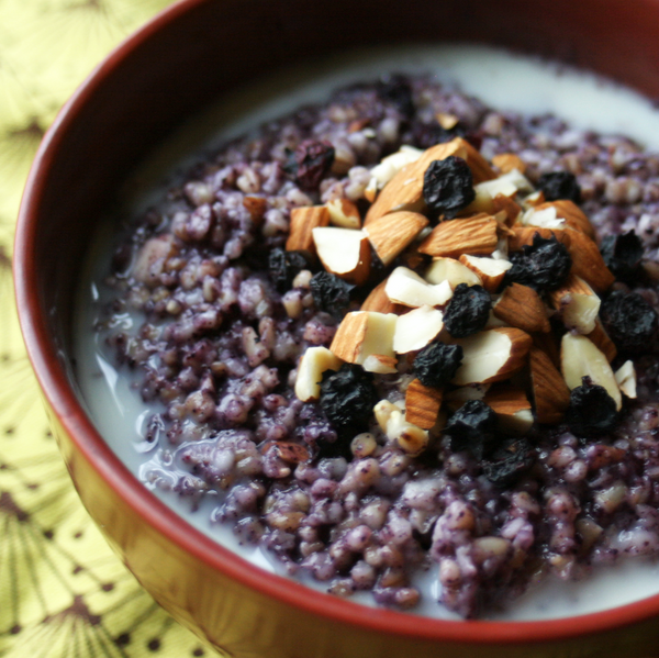 Blueberry Steel Cut Oats