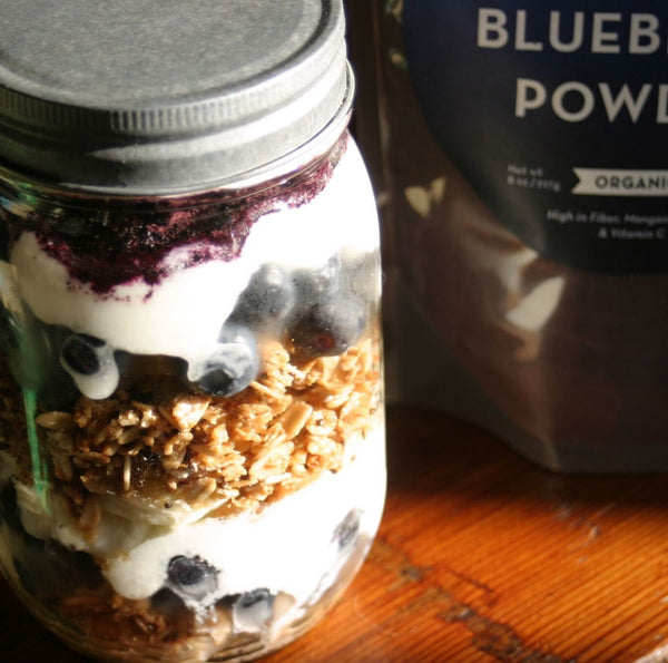 Blueberry Breakfast Jar