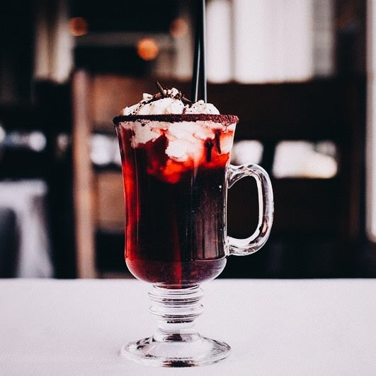 Mulled Blueberry Cider