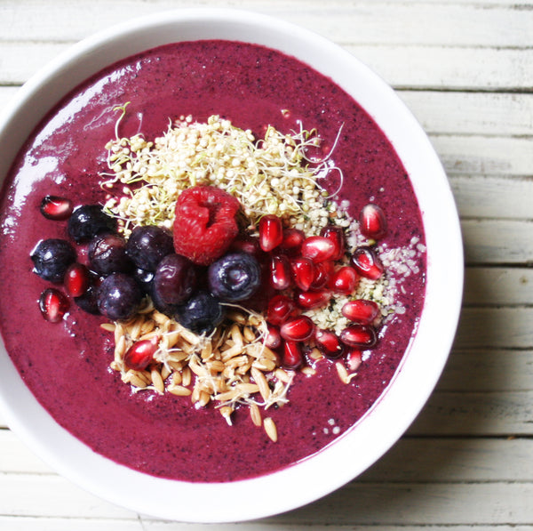 Northwest Berry Smoothie Bowl