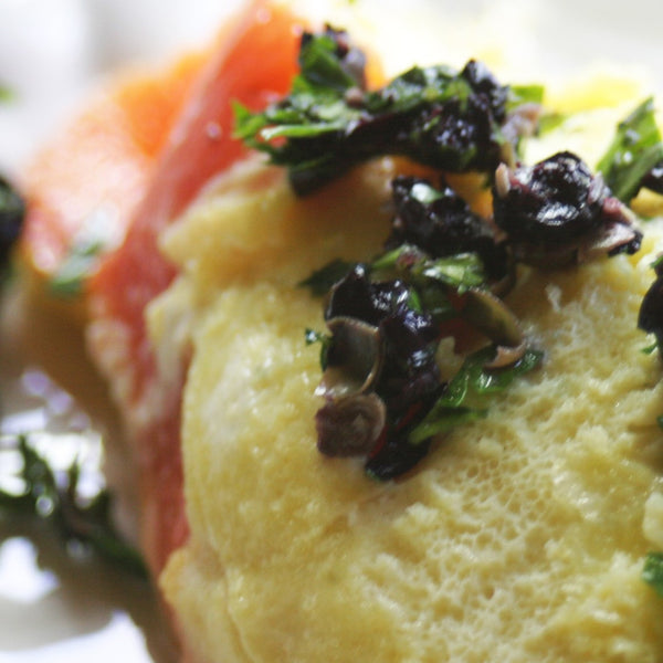 Bow Hill Blueberry & Salmon Lox Omelet