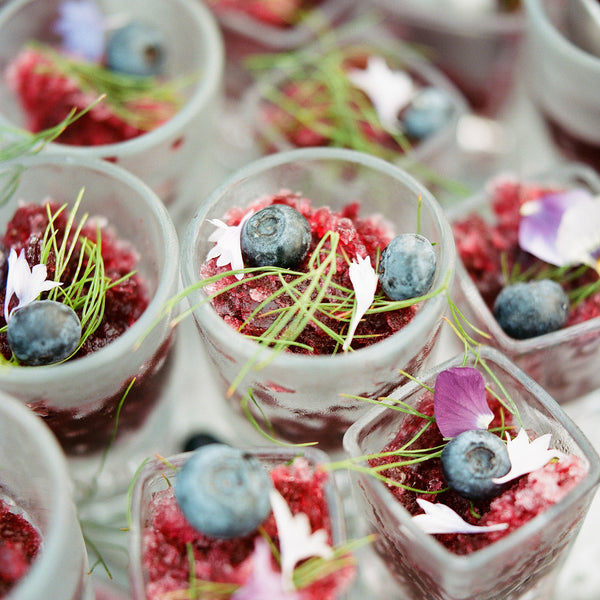 Blueberry & Meyer Lemon Granita