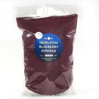 Organic Heirloom Blueberry Powder - Wholesale BAG 5-pound