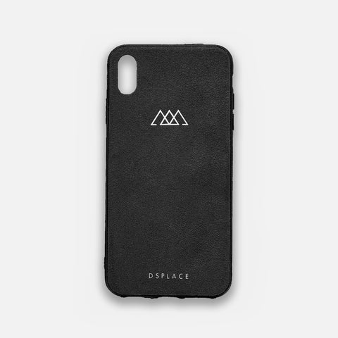 IPHONE XS ALCANTARA® CASE JET BLACK