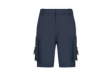 Christian Dior Cargo Shorts Navy Blue