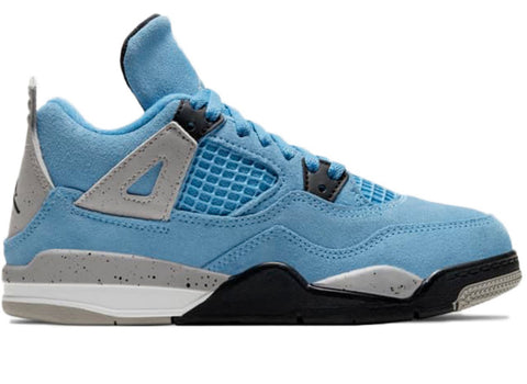 Jordan 4 Retro University Blue (PS)