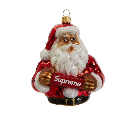Supreme Santa Red Ornament