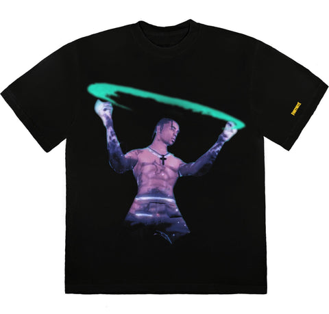 Travis Scott Stargazing Black T-Shirt