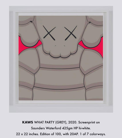 Kaws What Party (Red) - 2020 Edition 98 of 200