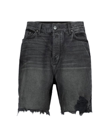 Amiri Denim Dark Gray Shorts