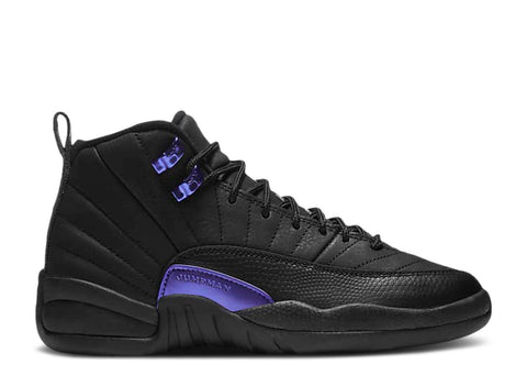 Jordan 12 Retro Black Dark Concord (GS)