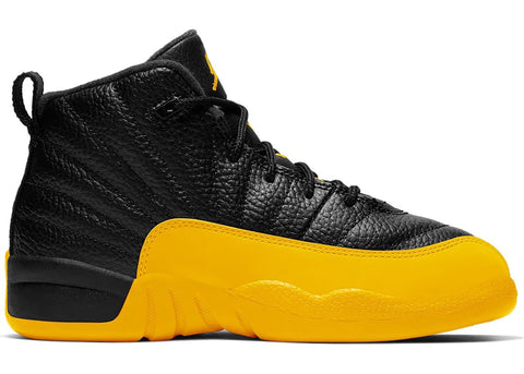 Jordan 12 Retro Black University Gold (PS)
