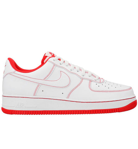 Nike Air Force 1 Low '07 White University Red