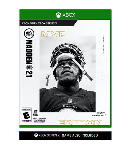 EA Sports Xbox Series X/ One Madden NFL 21 MVP Edition Video Game