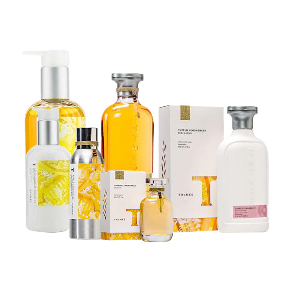 Thymes Tupelo Lemongrass Collection