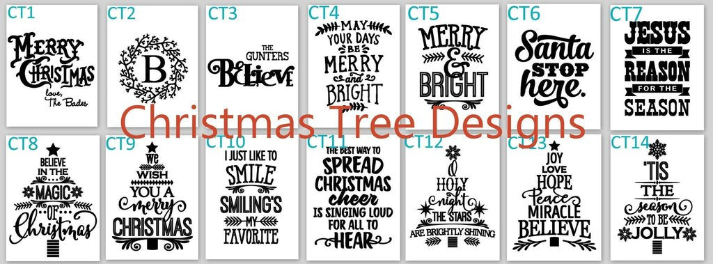 christmas tree designs