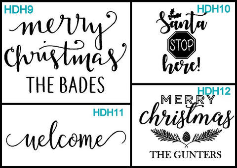 door hanger designs