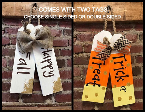 Double Sided Door Tags