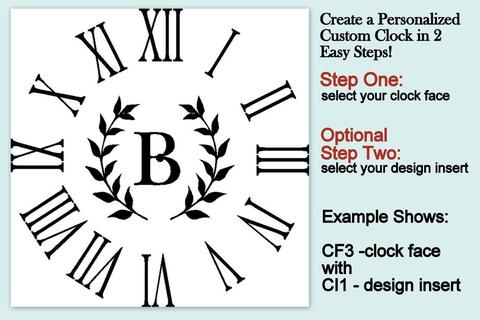instructions for design clock