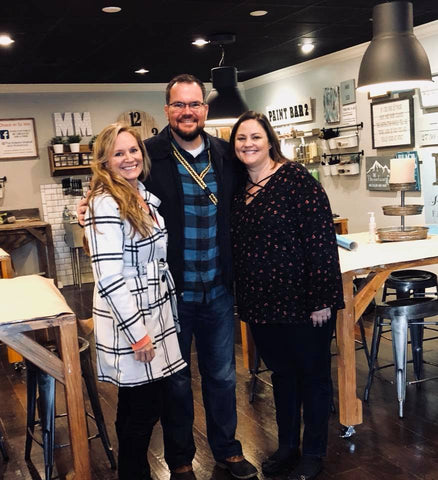 Charley Belcher Fox 13 Visits the Makers Market and Workshops