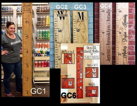 growth chart designs