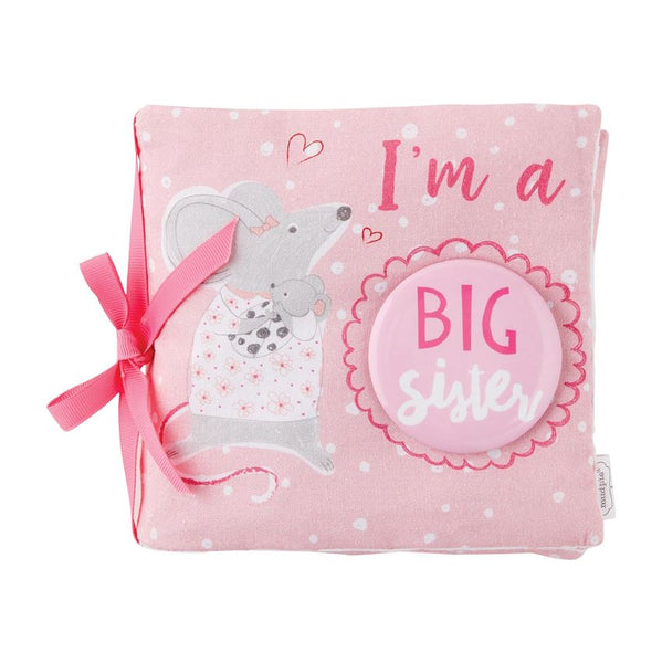 Mud Pie Big Sister Book & Pin