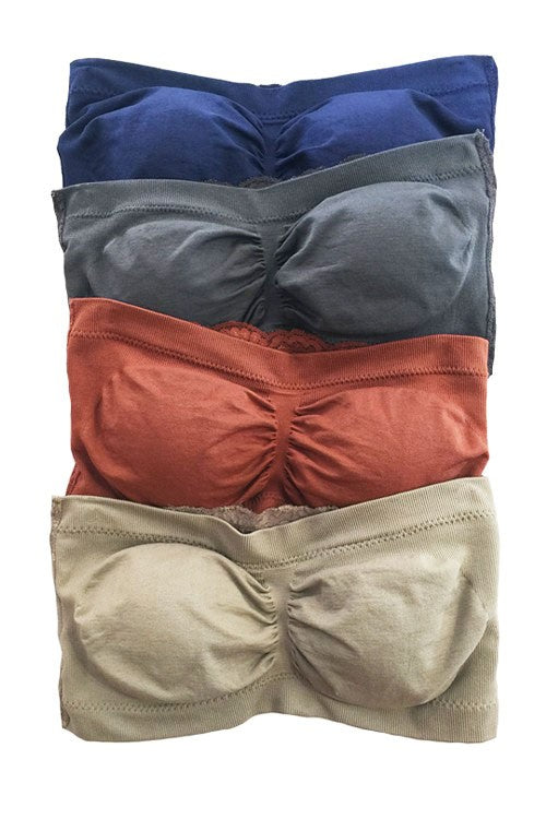 Bandeau Bra- assorted colors