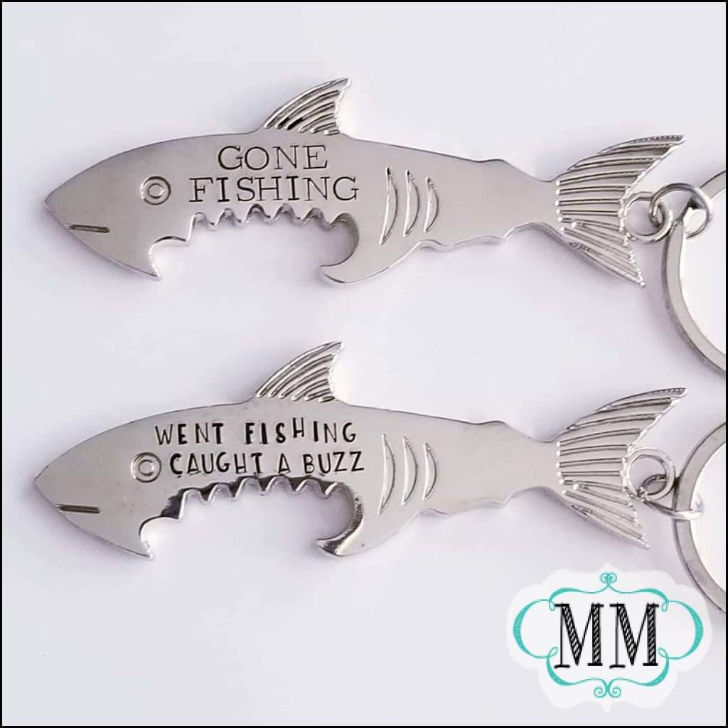 BBJ Shark Bottle Opener Keychain - bottle opener keychain