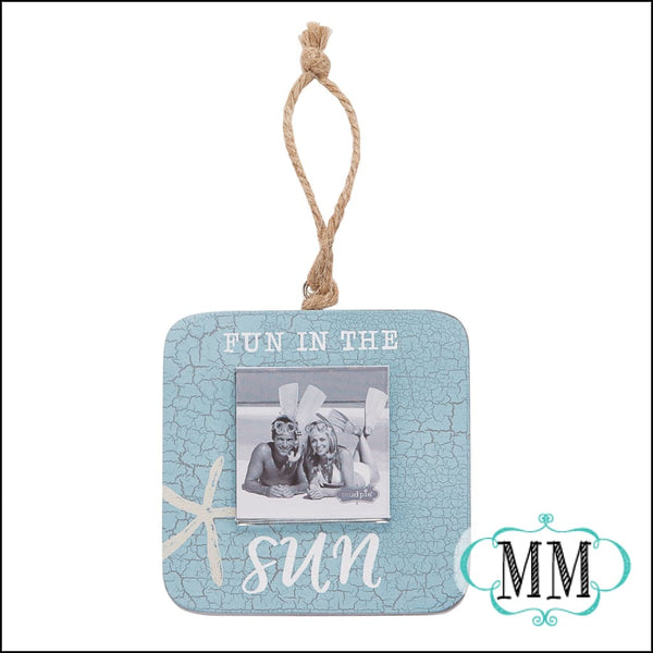 Beach theme shell frame- Asst. styles - Fun in the sun - Frames