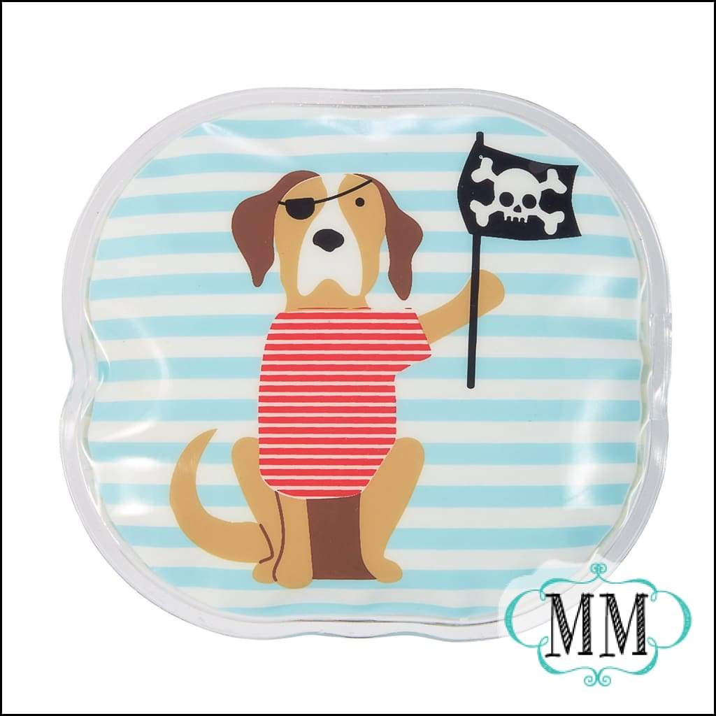 Boy Ouch Pouch - 4 Styles - Pirate puppy - Gift