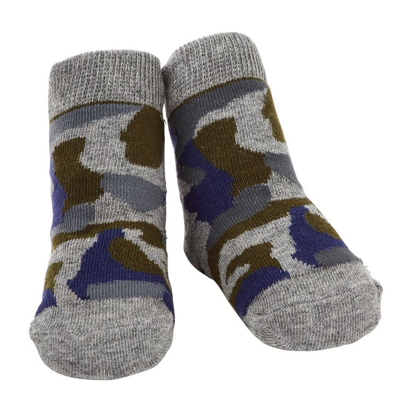 Mud Pie Baby Camo Socks