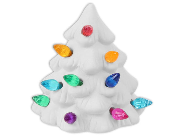 \Craft at Home - Christmas Tree Night Light - Includes all supplies needed! No need to Kiln Fire