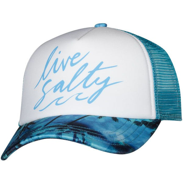 Salt Life Palm Storm Ladies Trucker Hat