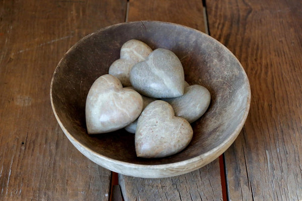 "2-3/4""L Soapstone Decorative Heart"