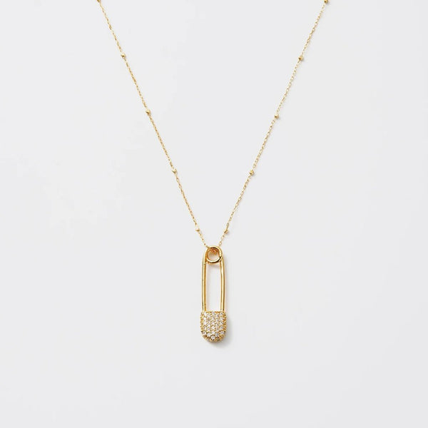 Luna Necklace: Nailed-White