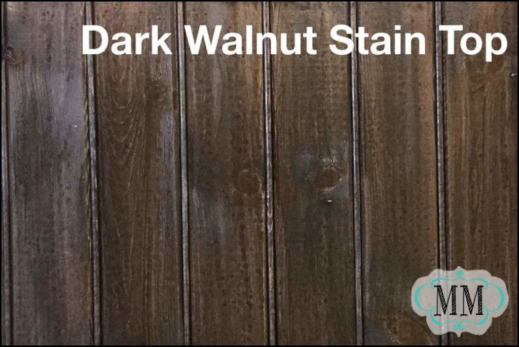 Rethunk Junk by Laura - 8oz. Dark Walnut Stain - DIY