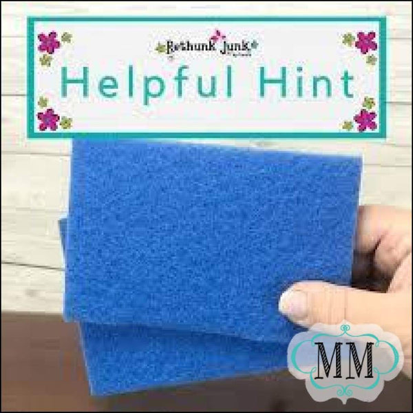 Retail - Scrub Pads Package - Rethunk Junk by Laura - DIY