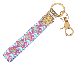 Simply Southern Leather Key Fob - 16 Styles