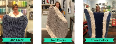 12pm - Sun. Dec. 15th - CHUNKY CHENILLE BLANKET - Sunday Crafter-Noon